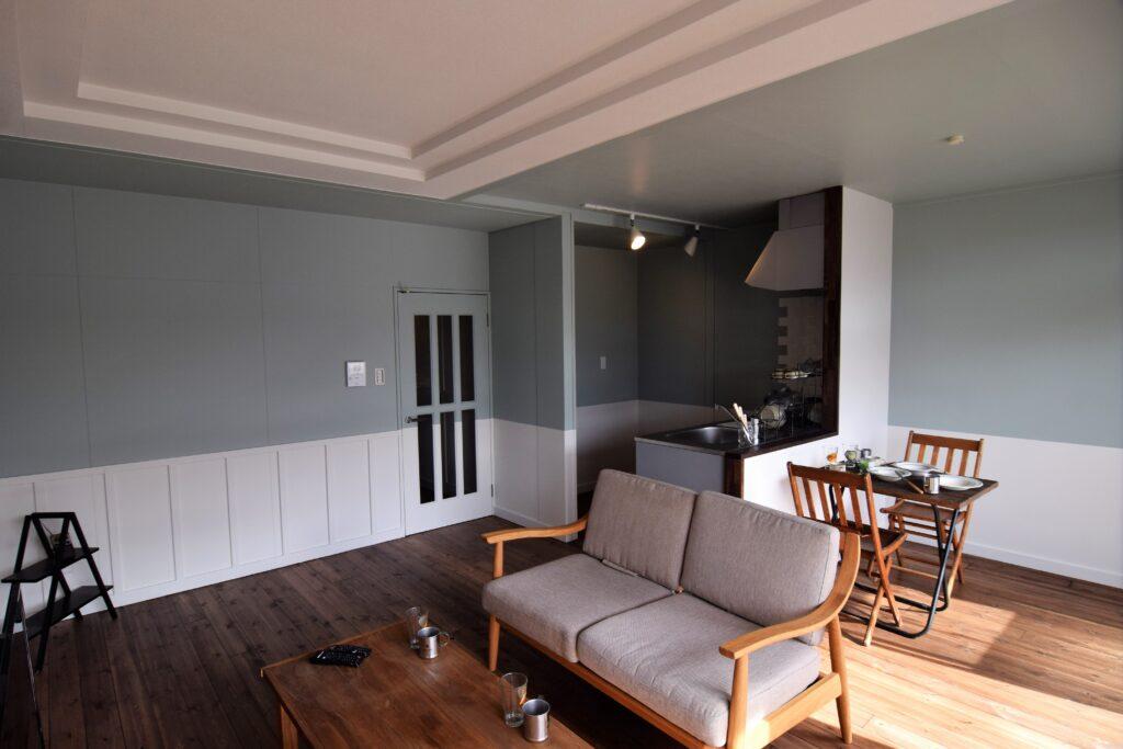 天井・扉の塗装